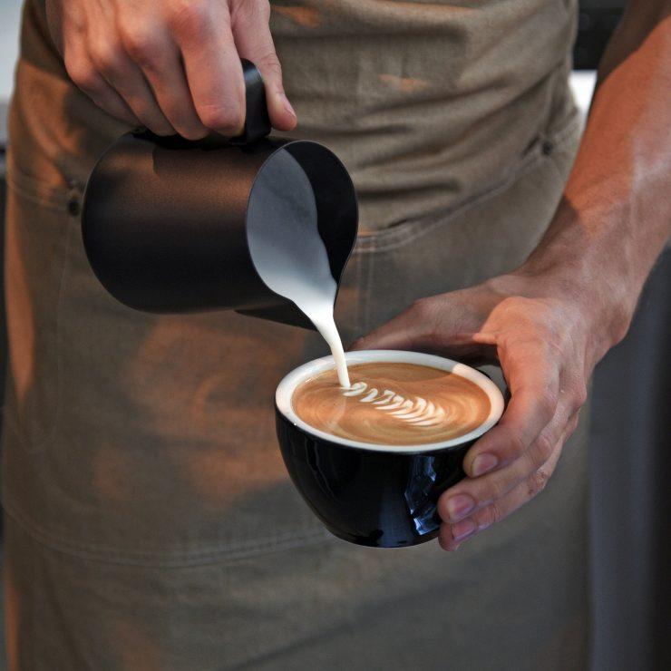 latte art caffetteria