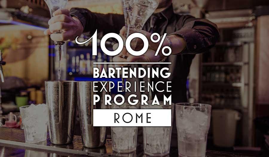 Corso per Barman Roma 100%